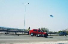 Катастрофа на пътя за Асеновград, моторист е в много тежко състояние